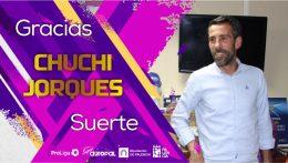 CHUCHI JORQUES se despide del Palencia CA para emprender un nuevo reto.