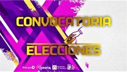 CONVOCATORIA ELECCIONES Y CALENDARIO ELECTORAL.